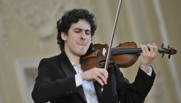 Итамар Зормар получивший серебряную медаль Международного конкурса имени Чайковского по специальности Скрипка