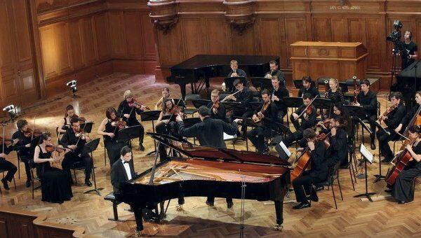 Обладатель четвертой премии среди пианистов XIV Международного конкурса имени Чайковского Александр Романовский из Украины