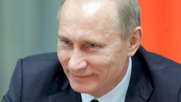 Премьер-министр РФ В.Путин. Архив