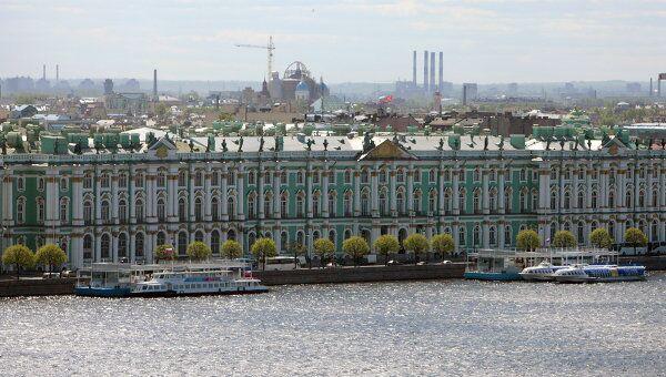Вид на Зимний дворец