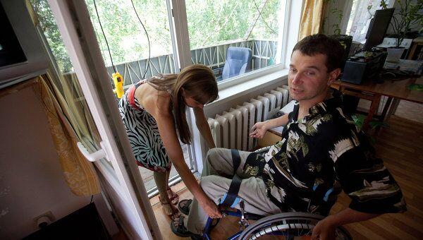 Инвалид дома. Архивное фото