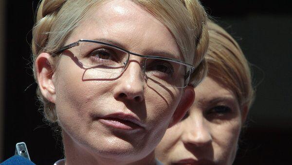 Бывший премьер-министр Украины Юлия Тимошенко