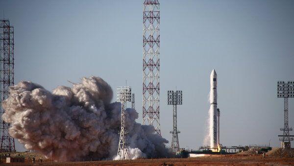 Запуск ракеты-носителя Зенит, архивное фото