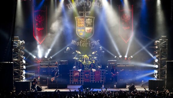 Концерт группы Motorhead в Москве. Архивное фото