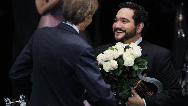 Международный конкурс оперных артистов Operalia в Москве