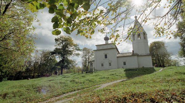 Ильинская церковь в селе Палех