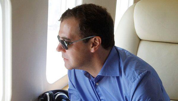 Рабочая поездка Д.Медведева в Тамбовскую область