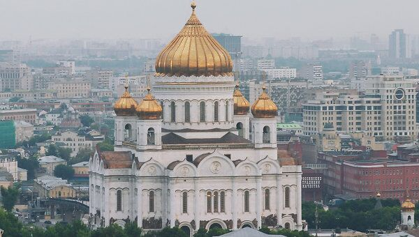 Вид на Храм Христа Спасителя