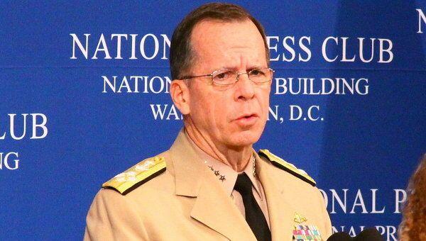 Глава Объединенного комитета начальников штабов (ОКНШ) Вооруженных сил США адмирал Майкл Маллен