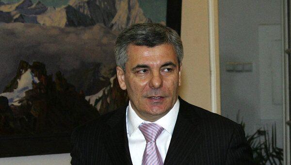 Глава республики Кабардино-Балкария Арсен Каноков. Архив