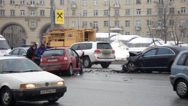 ДТП на Ленинском проспекте произошло 25 февраля