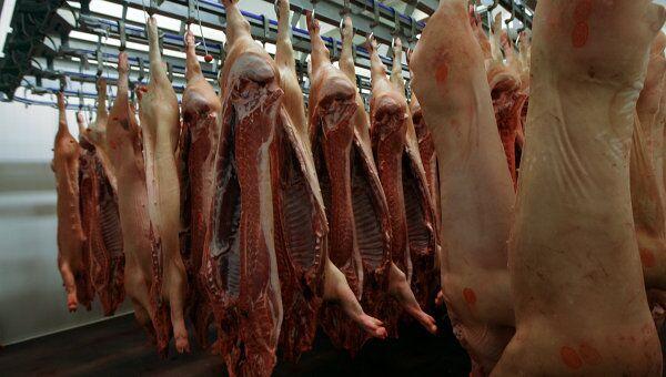 Белоруссия запретила ввоз свинины из России