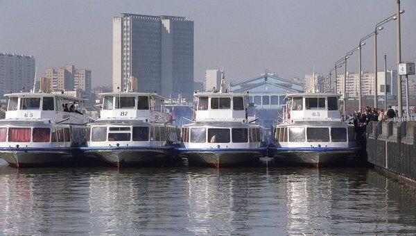 Теплоходы Столичной судоходной компании