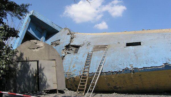 Авария на шахте имени Бажанова в Макеевке Донецкой области