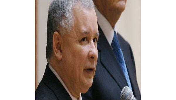Премьер-министр Польши Ярослав Качиньский