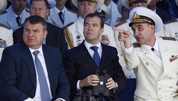 Парад боевых кораблей и военно-спортивный праздник в честь Дня ВМФ России в Балтийске