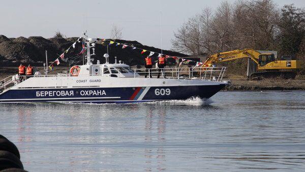 Пограничные сторожевые катера типа Соболь и Мангуст прибыли в порт Очамчира (Абхазия)