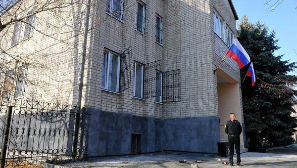 Здание суда станицы Кущевская Краснодарского края. Архив