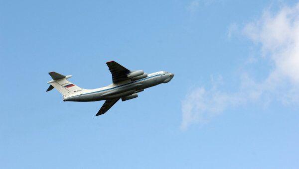 Самолет Ил-76. Архив