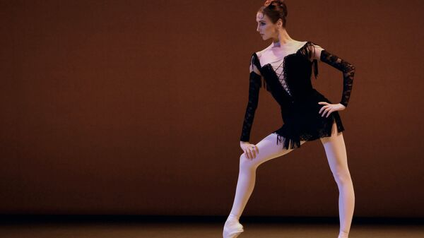 Солистка Большого театра Светлана Захарова выступает на гала-концерте артистов Национального балета Кубы, посвященный балерине Алисии Алонсо