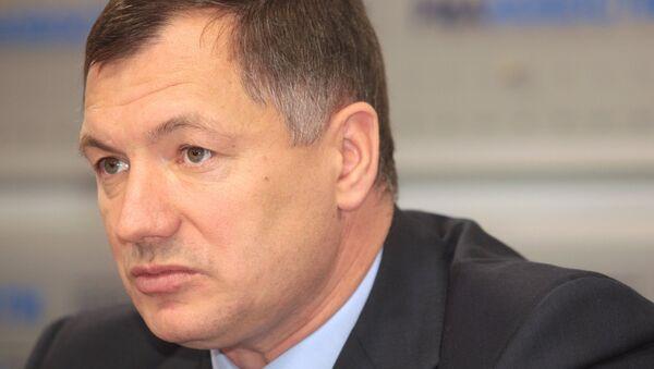 Заместитель мэра Москвы по вопросам градостроительной политики и строительства Марат Хуснуллин. Архив