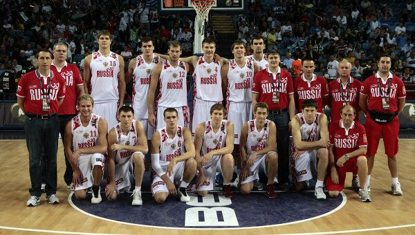 Российская сборная по баскетболу. Архив