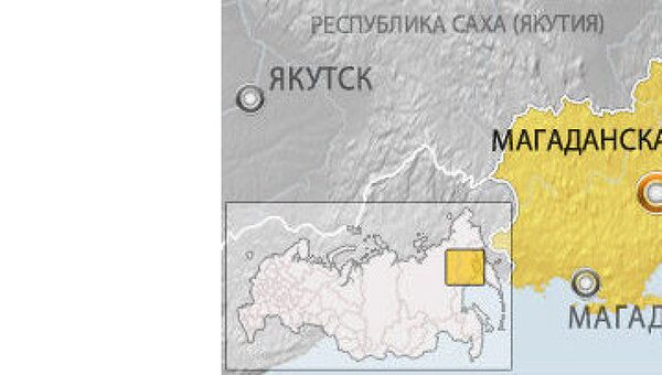 ЧП с самолетом АН-12 в поселке Омсукчан Магаданской области