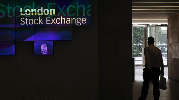 Вестибюль Лондонской фондовой биржи (LSE). Архивное фото