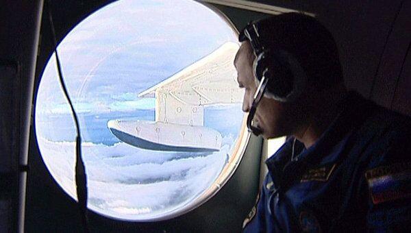 Поиски пропавшего Ан-12 с самолета БЕ-200 ЧС в Магаданской области