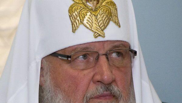 Патриарх Московского и всея Руси Кирилл соболезнует родным и близким убитых в финском торговом комплексе