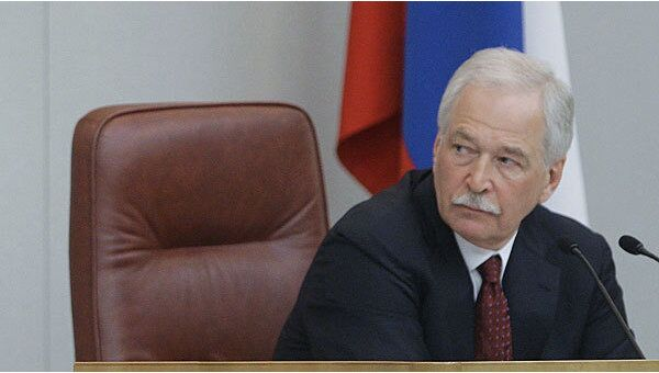 Председатель Государственной Думы РФ Борис Грызлов