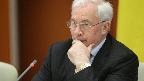 Премьер-министр Украины Николай Азаров. Архив