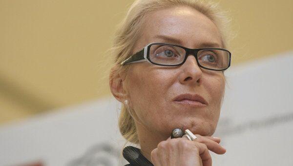 Директор Московского дома фотографии Ольга Свиблова