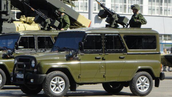 Боевые автомобили Гусар. Архивное фото