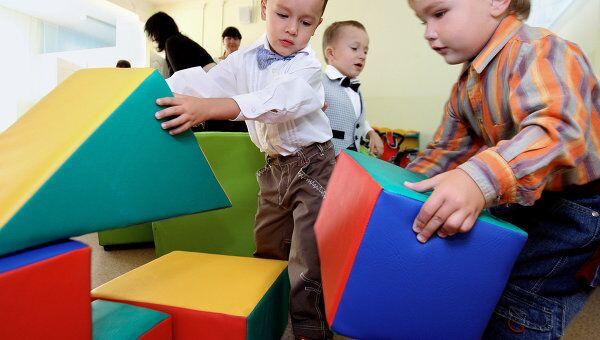 Один из российских детских садов. Архив