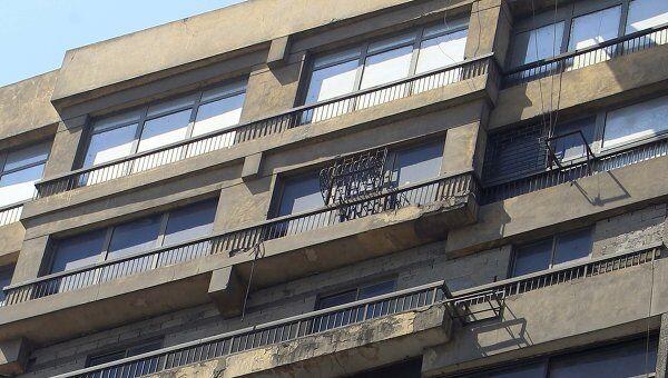 Посольство Израиля в Египте. Каир, 19 августа