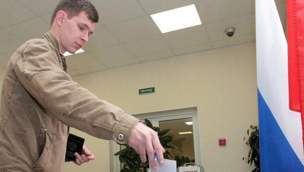 Муниципальные выборы в округах в Санкт-Петербурге