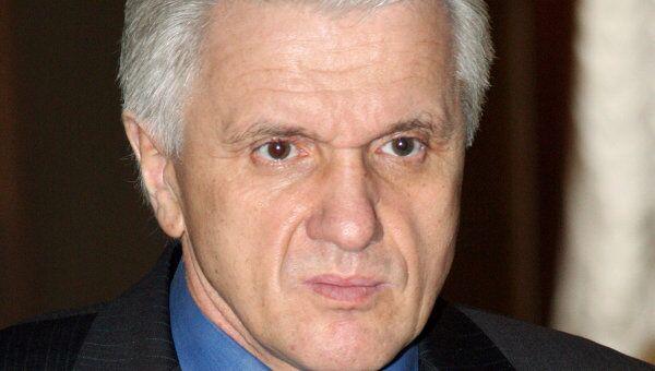 Спикер Верховной Рады Владимир Литвин. Архив