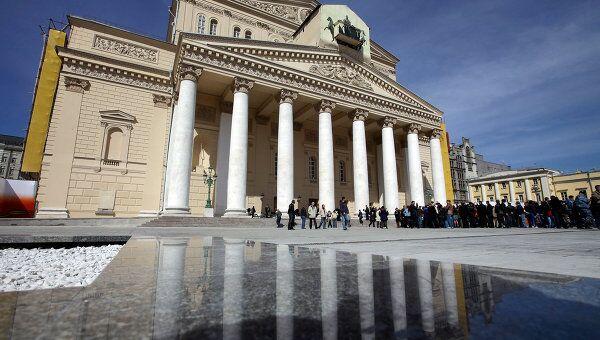 Здание Московского Большого театра после реконструкции, архивное фото