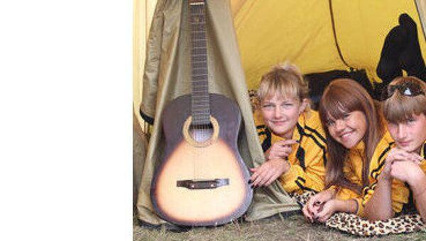 Слет палаточных лагерей стартовал в Омской области