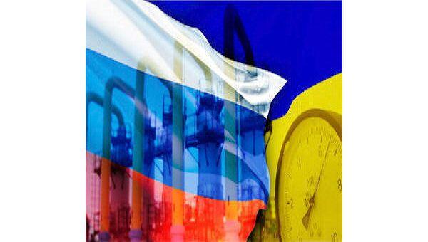 Россия, Украина, газ