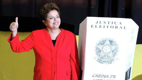 Выборы в Бразилии. Дилма Руссефф - официальная преемница действующего президента Бразилии и бывшая глава его администрации