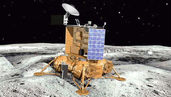Посадочный модуль зонда Луна-Глоб. Архив