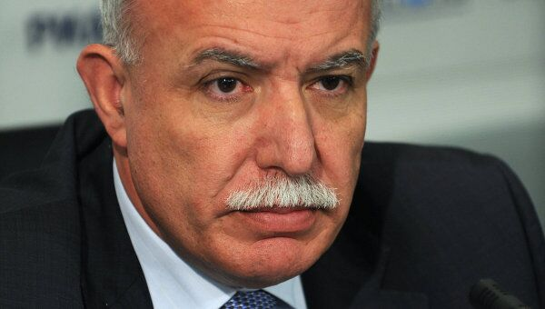 Глава МИД Палестины Рияд Аль-Малики. Архивное фото