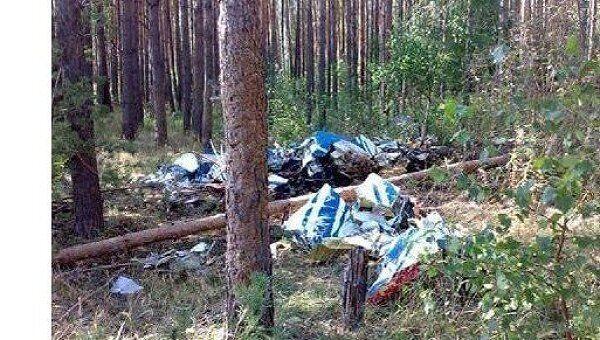 Катастрофа Як-52 в Подмосковье