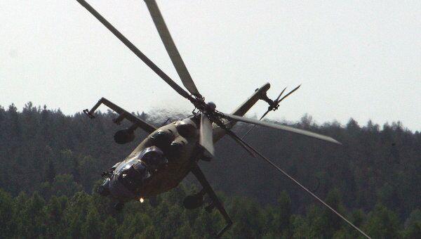 Вертолет Ми-24 Сызранского высшего военного авиационного училища летчиков потерпел катастрофу 3 февраля