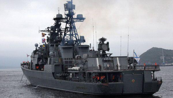 БПК Адмирал Пантелеев. Архивное фото