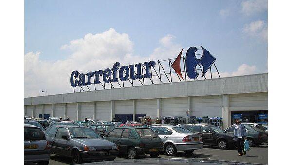 Один из гипермаркетов Carrefour. Архив