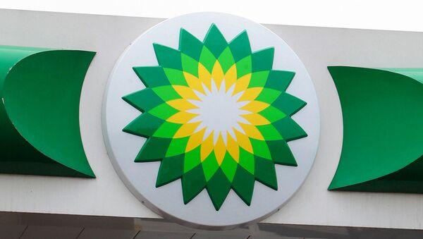 Логотип компании BP. Архивное фото