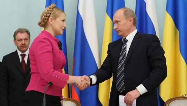 Тимошенко хочет подписать с РФ московскую декларацию по газу - СМИ